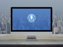 Biznesowego interneta online pojęcie obrazy stock