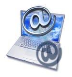 biznesowego komputeru internetów marketing ilustracja wektor