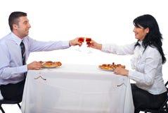 biznesowego lunchu ludzie Zdjęcia Royalty Free
