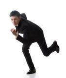 Biznesowego mężczyzna bieg zdjęcie stock