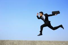 Biznesowego mężczyzna bieg fotografia royalty free