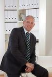 biznesowego mężczyzna biuro stary Zdjęcia Stock