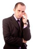 Biznesowego mężczyzna główkowanie Obraz Stock