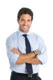 biznesowego mężczyzna ja target1749_0_ fotografia stock