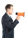 biznesowego mężczyzna ja target430_0_ Zdjęcia Stock