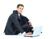 biznesowego mężczyzna ja target4784_0_ Obraz Stock