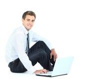 biznesowego mężczyzna ja target5064_0_ Obrazy Stock