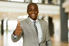 biznesowego mężczyzna kciuk biznesowy Zdjęcia Stock