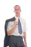 biznesowego mężczyzna koszulowy krawat Obrazy Royalty Free