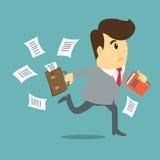 Biznesowego mężczyzna kreskówka Fotografia Royalty Free