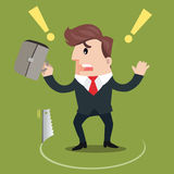Biznesowego mężczyzna kreskówka Obraz Stock