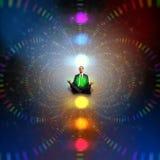 Biznesowego mężczyzna medytować Zdjęcie Stock