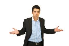 biznesowego mężczyzna nieporozumienie Fotografia Stock