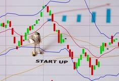 Biznesowego mężczyzna pojęcie dla zaczyna up biznesowego pojęcie Obraz Stock