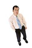 biznesowego mężczyzna portret męczący zdjęcie stock