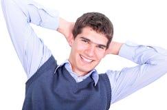 biznesowego mężczyzna portreta potomstwa Fotografia Royalty Free