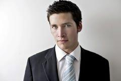 biznesowego mężczyzna potomstwa Fotografia Stock