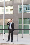 biznesowego mężczyzna poważni potomstwa Obrazy Stock