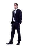 biznesowego mężczyzna pozycja Zdjęcia Royalty Free