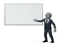 biznesowego mężczyzna prezentacja Obraz Stock