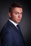 biznesowego mężczyzna profilu strona obrazy royalty free