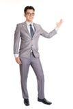 Biznesowego mężczyzna przedstawiać zdjęcie royalty free