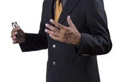 Biznesowego mężczyzna ręka obrazy royalty free