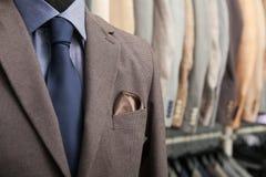 biznesowego mężczyzna s kostium obraz stock
