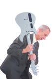 biznesowego mężczyzna skały rolka Fotografia Stock