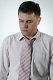 biznesowego mężczyzna spęczenie Fotografia Stock