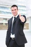 biznesowego mężczyzna sygnalizacyjny sukces Obraz Stock