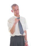 biznesowego mężczyzna target311_0_ Obraz Stock