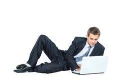 biznesowego mężczyzna ja target2241_0_ Fotografia Stock