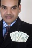biznesowego mężczyzna portret pomyślny Zdjęcia Stock