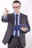 biznesowego mężczyzna potomstwa Obraz Stock