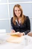 biznesowego mienia legalna kobieta Zdjęcia Stock
