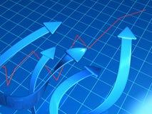 biznesowego pojęcia pieniężny przyrost Obraz Stock