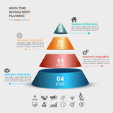 Biznesowego pojęcia infographic szablon Obraz Royalty Free