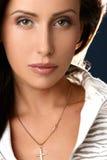 biznesowego portreta ładna kobieta Zdjęcia Royalty Free