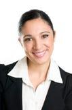 biznesowego portreta uśmiechnięta kobieta obraz royalty free