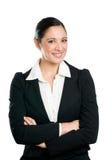 biznesowego portreta uśmiechnięta kobieta zdjęcia stock
