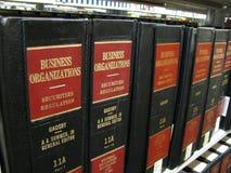 biznesowego prawa organizacja Fotografia Stock