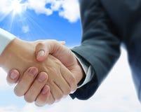 Biznesowego sojuszu pojęcie Zdjęcie Stock