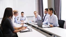 biznesowego spotkania biurowi ludzie zdjęcie wideo