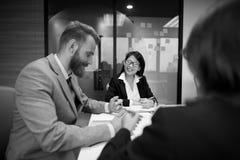Biznesowego spotkania dyskusi Konferencyjny Planistyczny pojęcie Zdjęcia Royalty Free