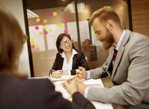 Biznesowego spotkania dyskusi Konferencyjny Planistyczny pojęcie Fotografia Stock