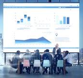 Biznesowego spotkania współpracy Konferencyjny Korporacyjny pojęcie fotografia royalty free