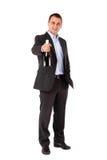 Biznesowego sukcesu iskrzasty wino Zdjęcie Stock