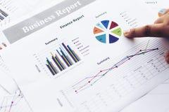Biznesowego wykresu informaci diagram Zdjęcia Stock