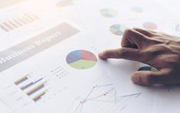 Biznesowego wykresu informaci diagram Obraz Stock